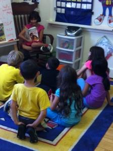 Student Lead Reading